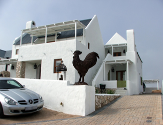At and Annelize Botha's new house in Paternoster